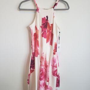 NWT Calvin Klein Floral Sheath Dress